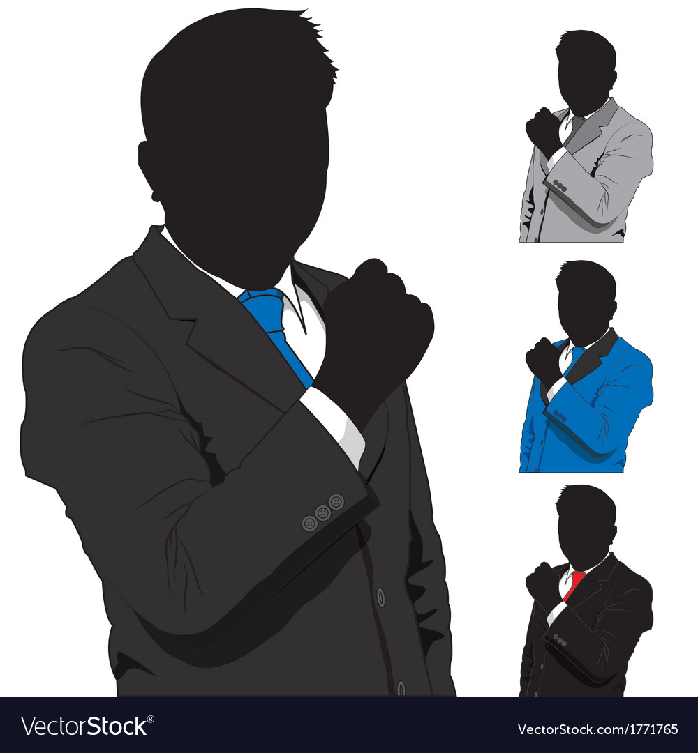 Business man success vector | Price: 1 Credit (USD $1)