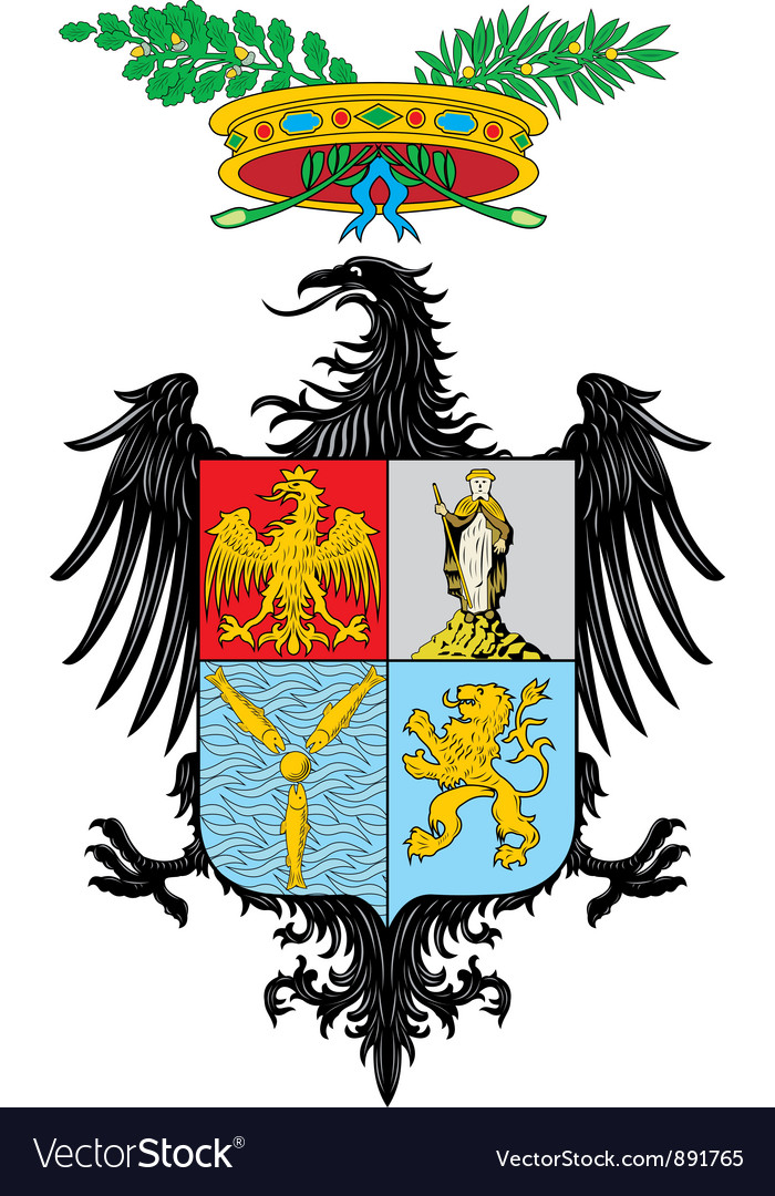 Province of palermo vector | Price: 1 Credit (USD $1)