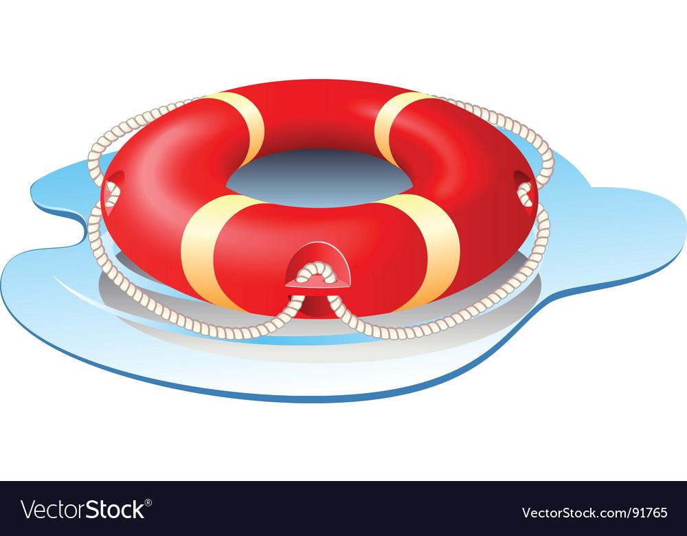 Ring-buoy vector | Price: 3 Credit (USD $3)