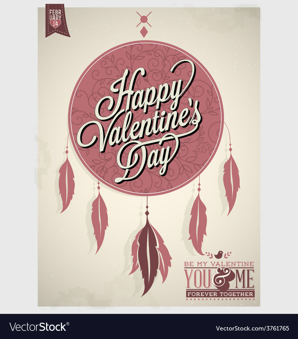 Valentines day design vector | Price: 1 Credit (USD $1)
