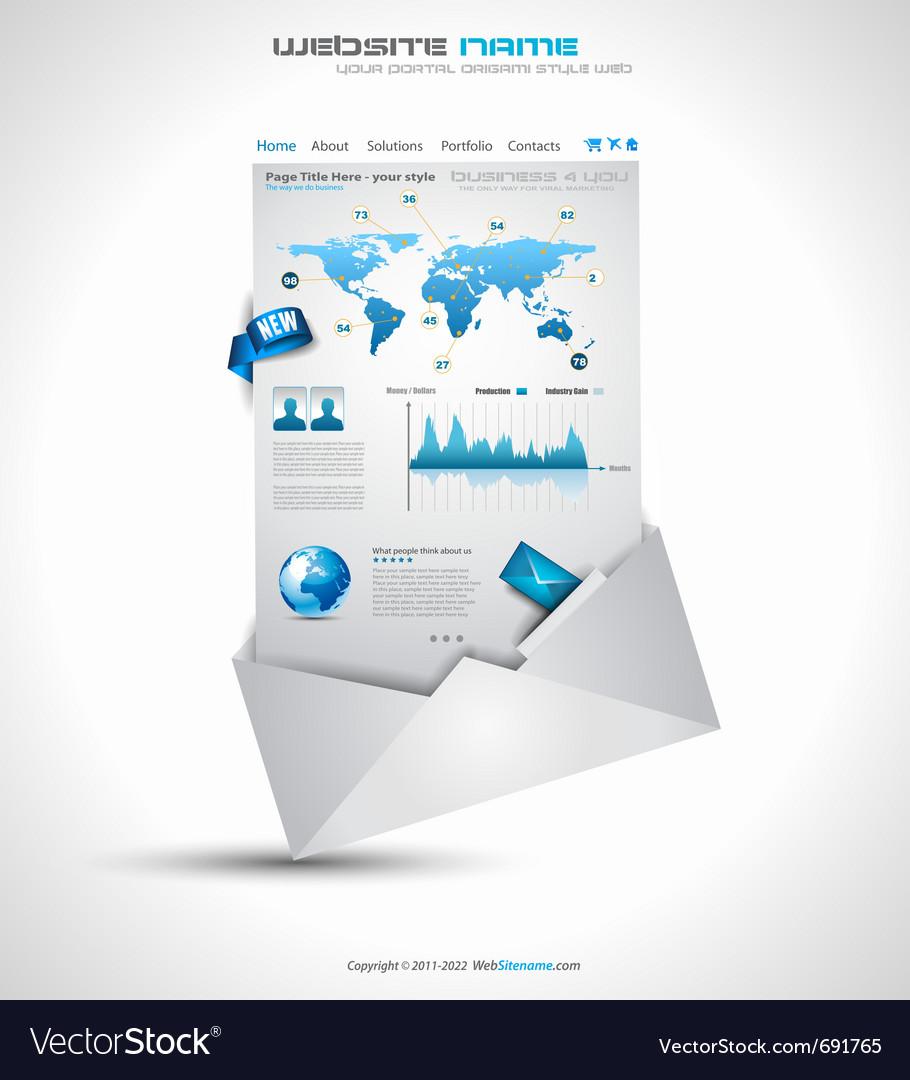 Website infographics vector | Price: 3 Credit (USD $3)