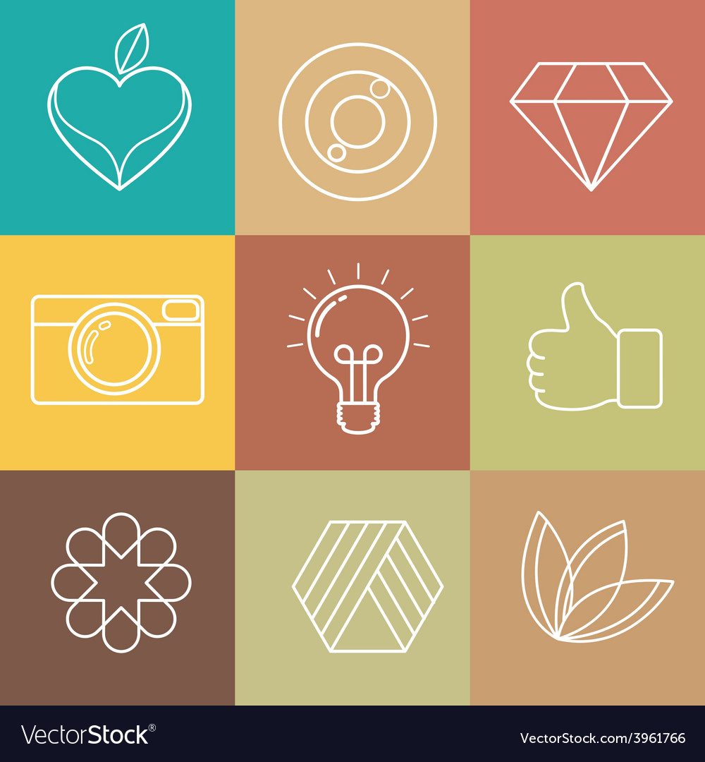 Abstract hipster icon vector | Price: 1 Credit (USD $1)