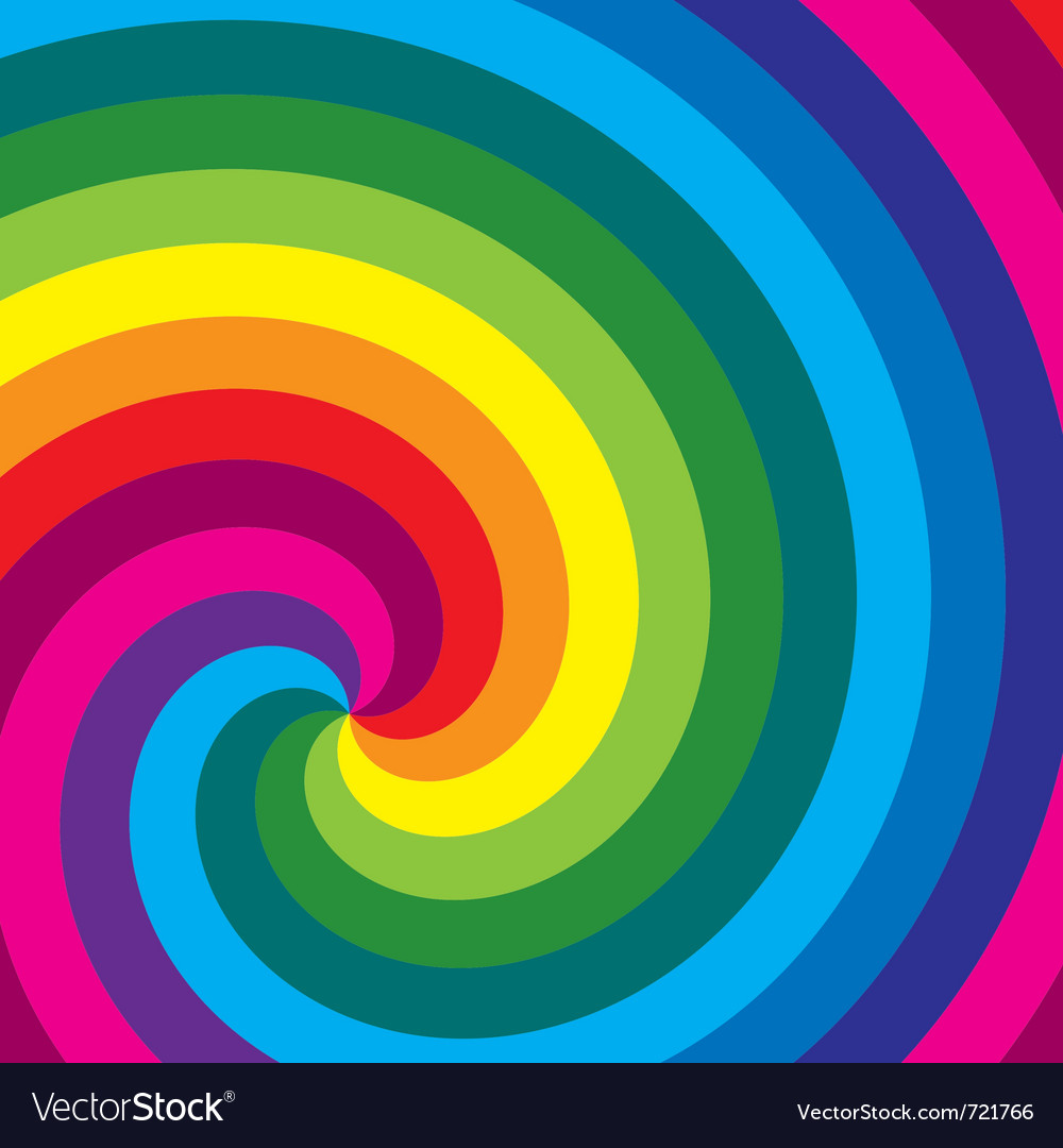 Colorful swirl background vector | Price: 1 Credit (USD $1)