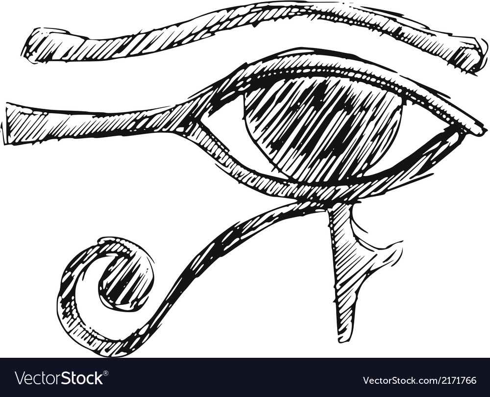 Eye of ra vector | Price: 1 Credit (USD $1)