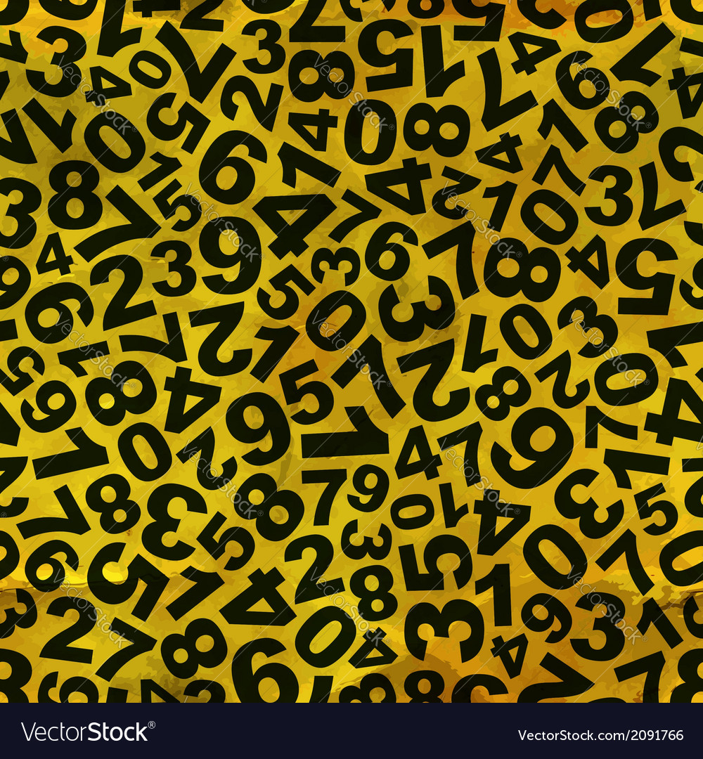 Numbers vector   Price: 1 Credit (USD $1)