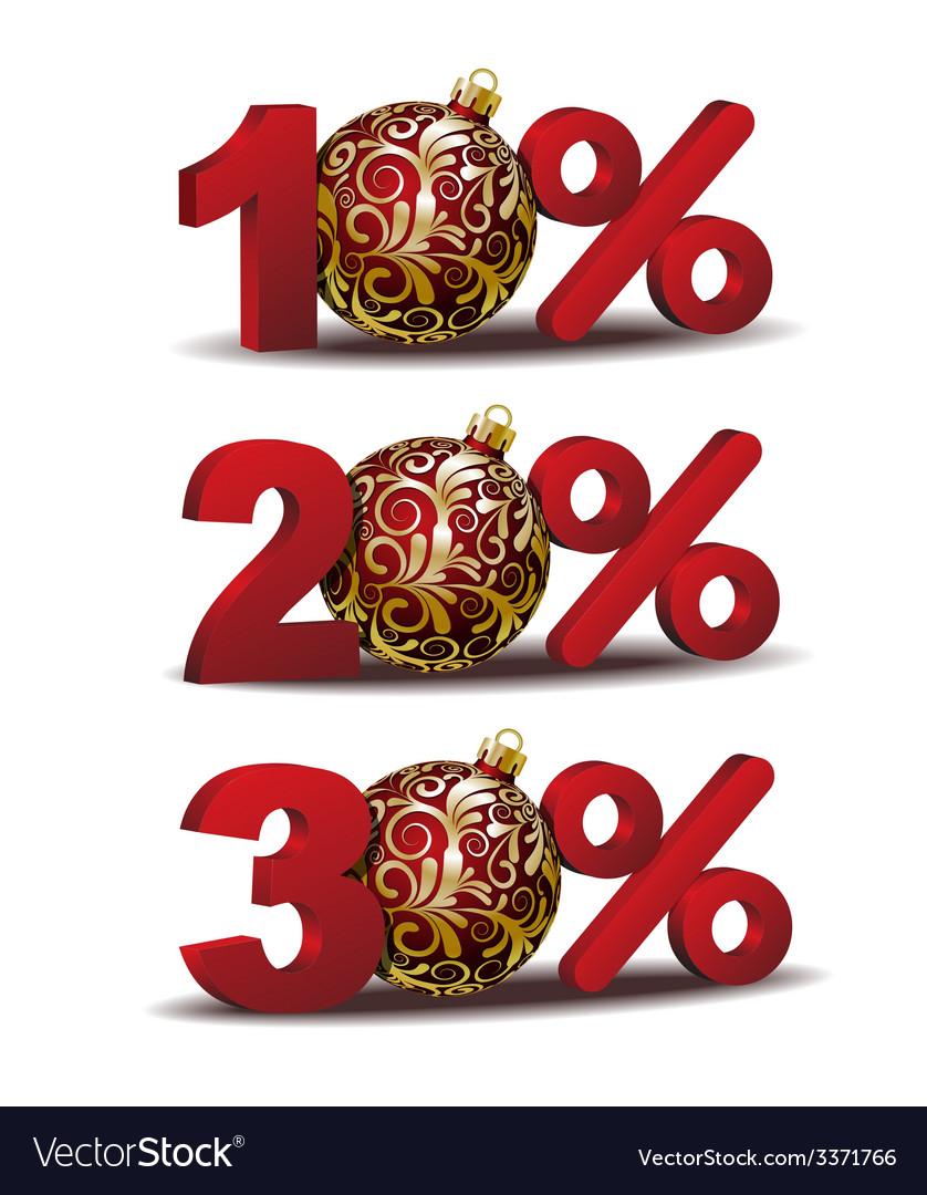 Percent discount icon vector | Price: 1 Credit (USD $1)