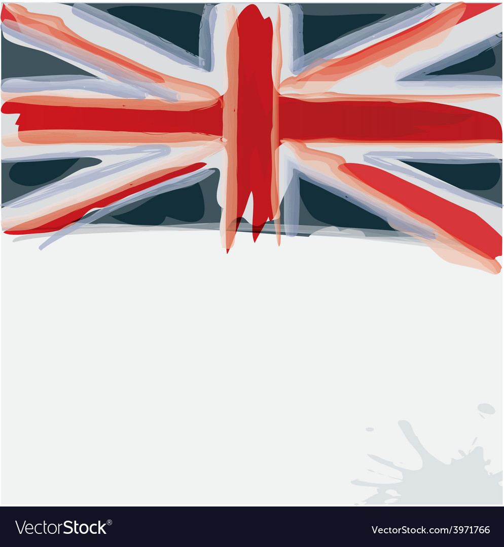 United kingdom flag vector | Price: 1 Credit (USD $1)