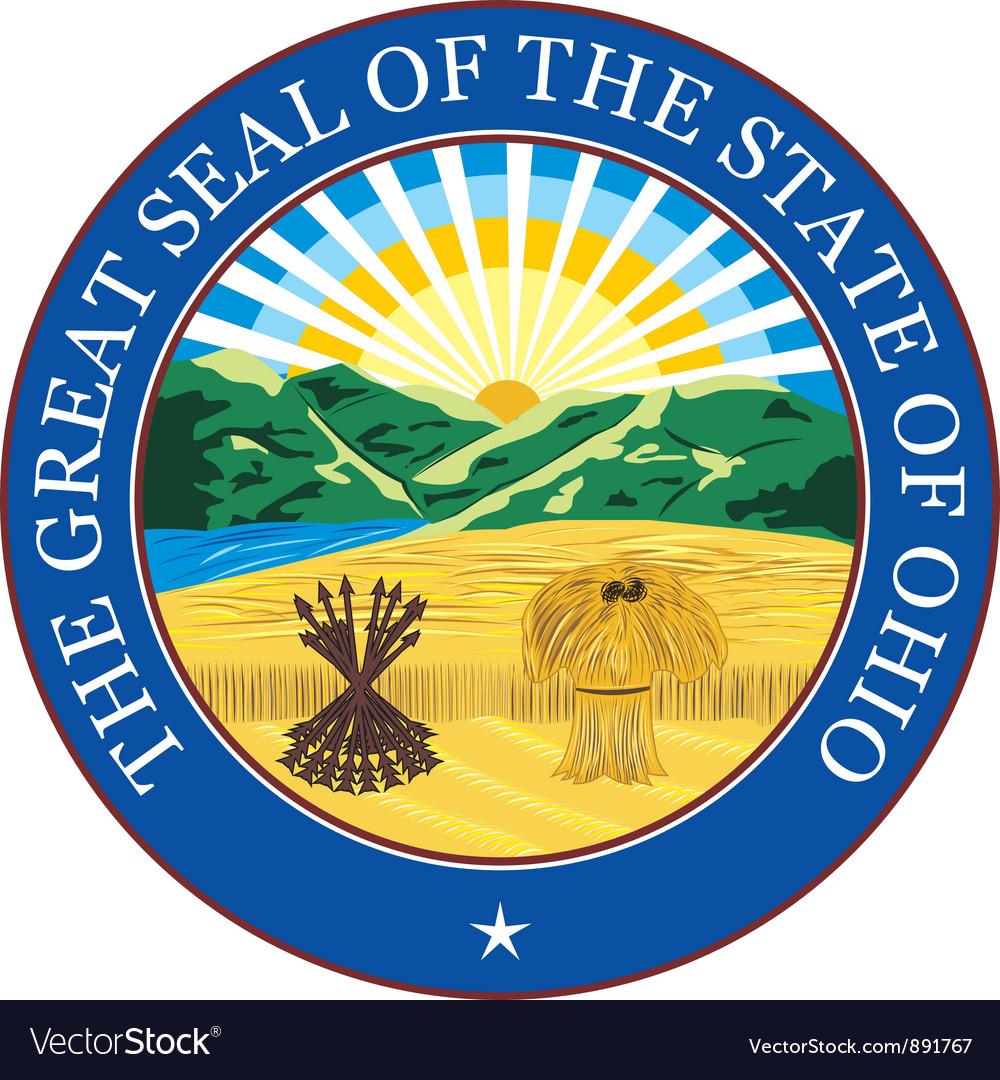 Ohio seal vector | Price: 1 Credit (USD $1)