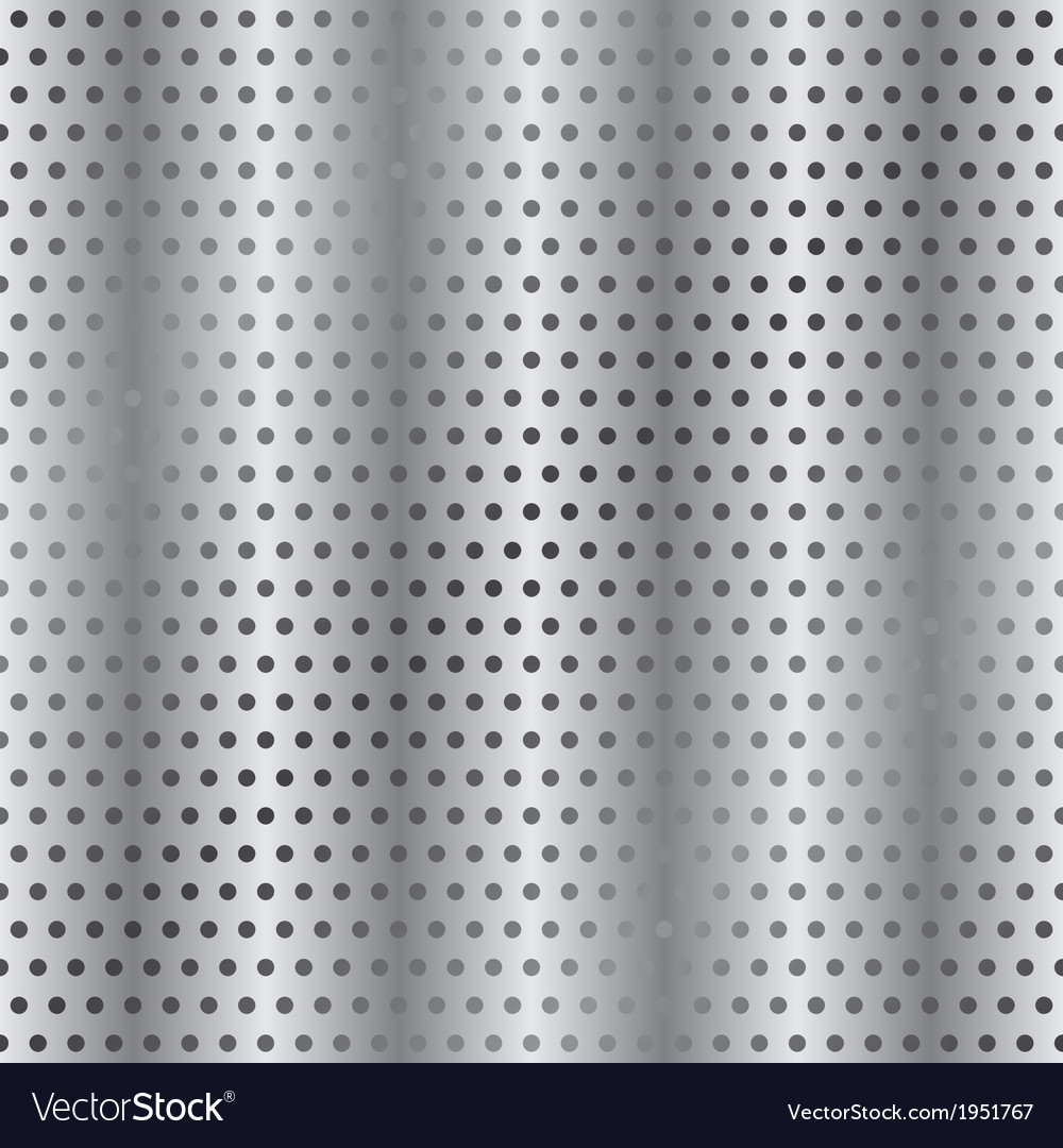 Perforated metallic background vector | Price: 1 Credit (USD $1)