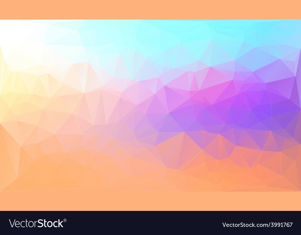 Polygon background vector | Price: 1 Credit (USD $1)