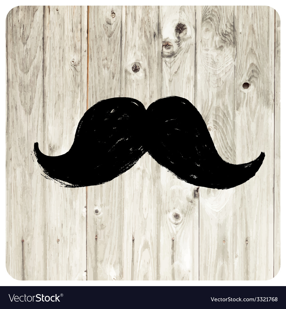 Moustache symbol vector | Price: 1 Credit (USD $1)