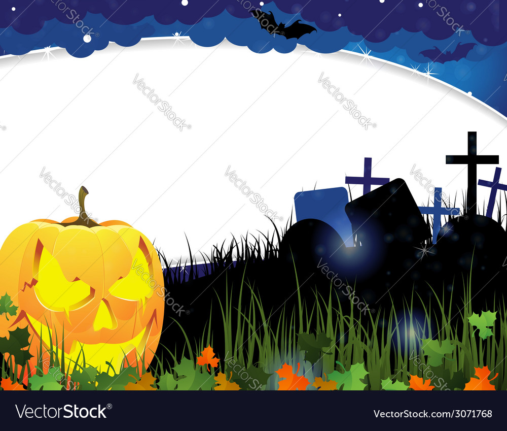 Pumpkin head and autumn leaves vector   Price: 3 Credit (USD $3)