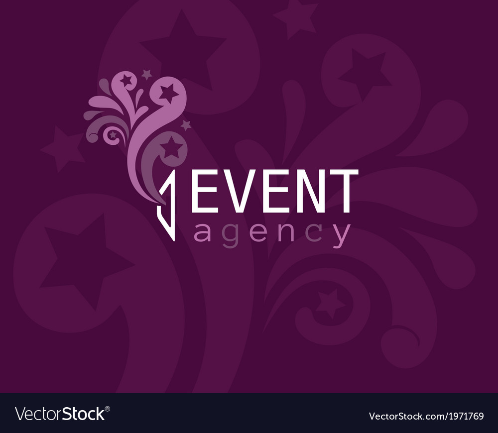 Event agency logo vector | Price: 1 Credit (USD $1)