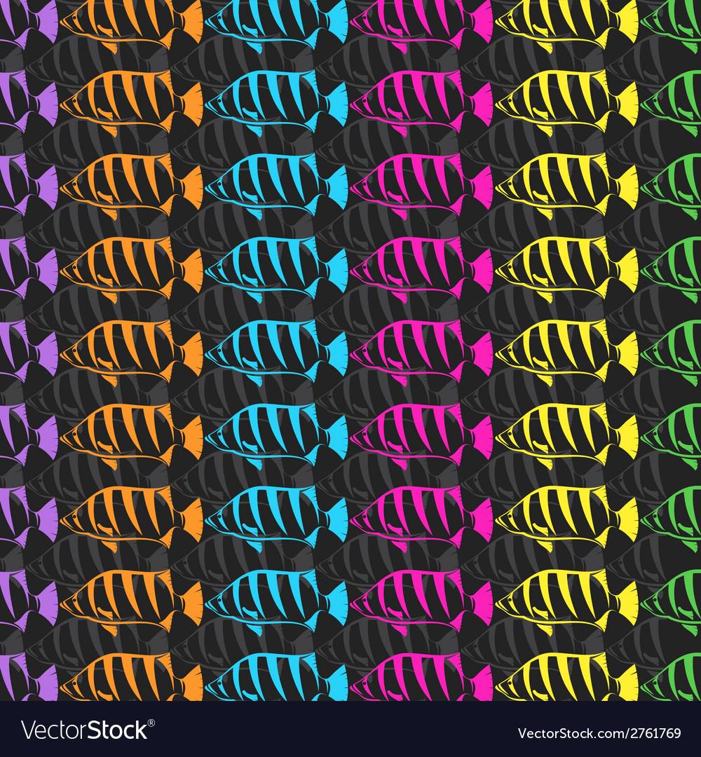 Fish wallpaper vector | Price: 1 Credit (USD $1)