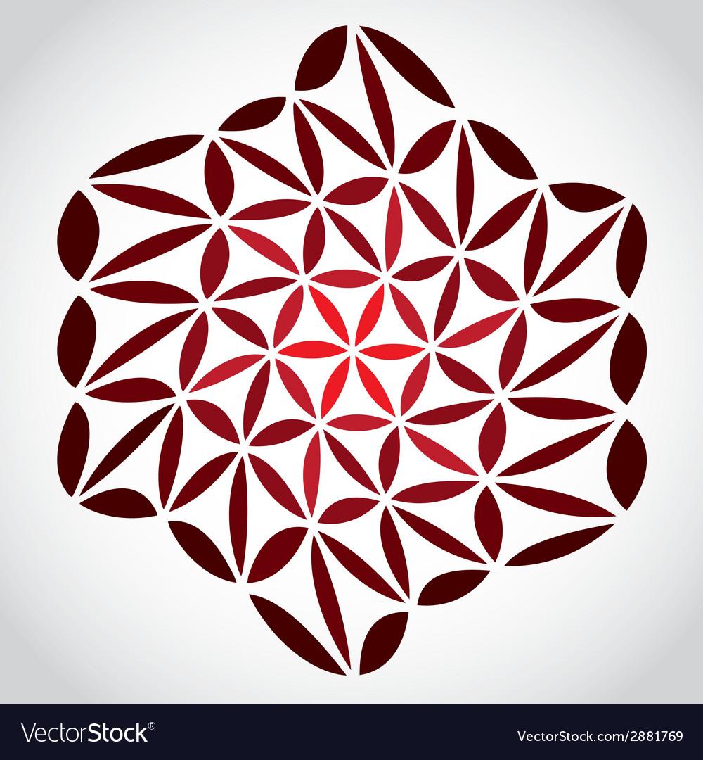 Floweroflifetheme vector | Price: 1 Credit (USD $1)