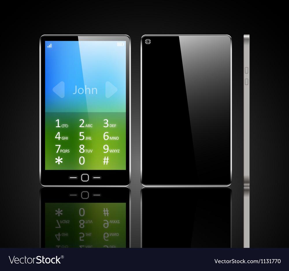 Luxury phone vector | Price: 1 Credit (USD $1)