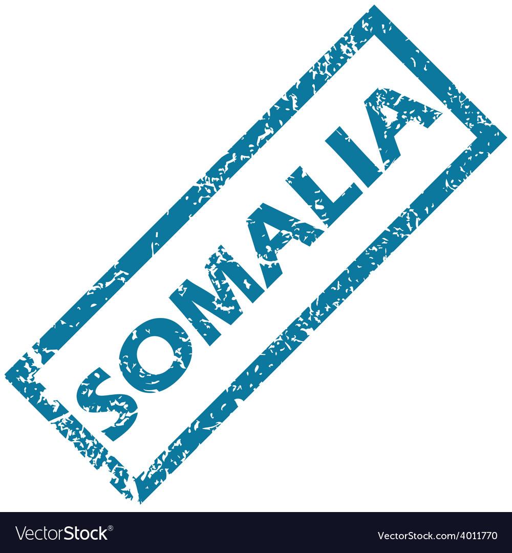Somalia rubber stamp vector | Price: 1 Credit (USD $1)