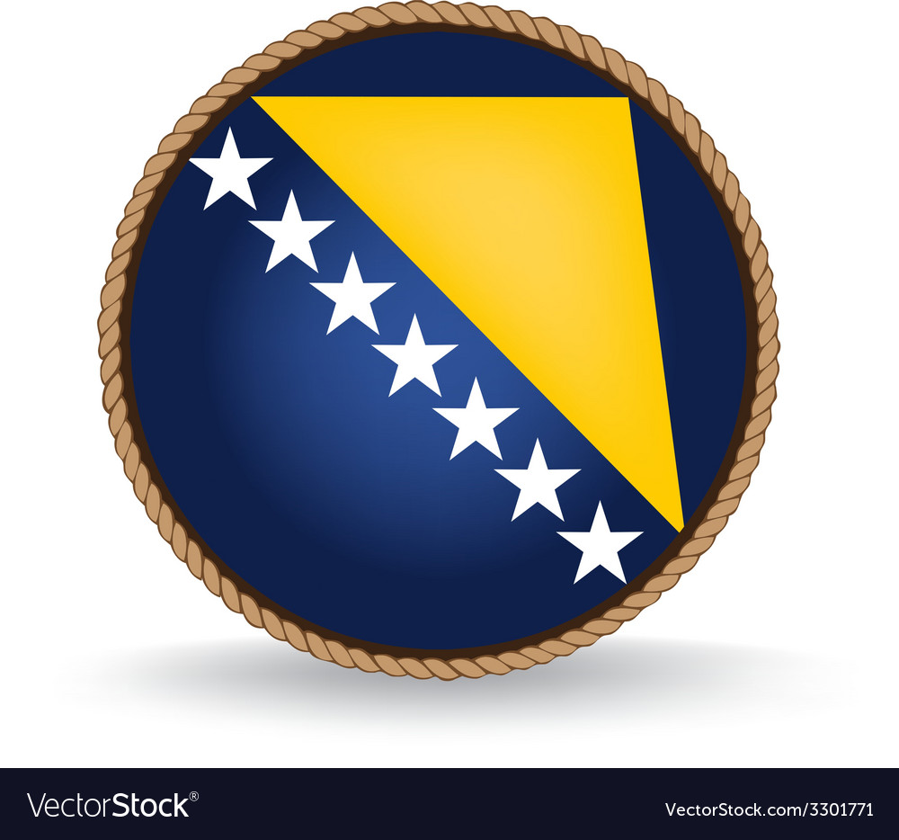 Bosnia and herzegovina seal vector | Price: 1 Credit (USD $1)