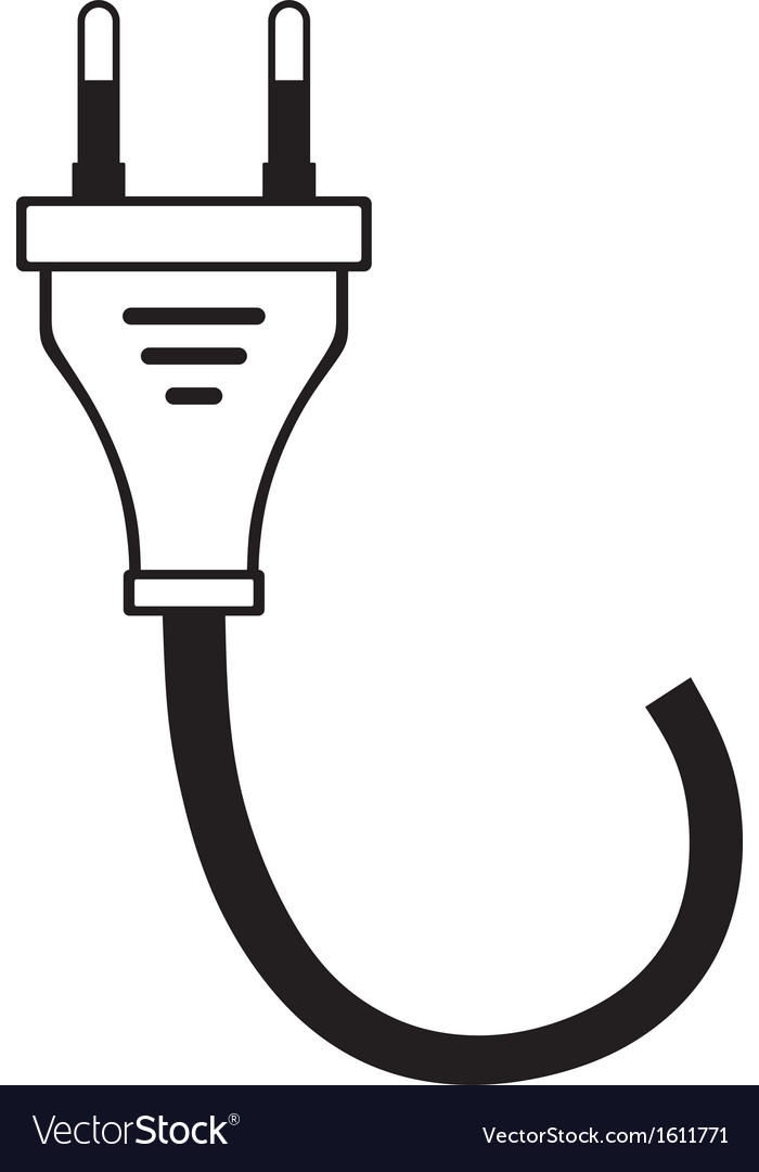 Electric cable vector | Price: 1 Credit (USD $1)