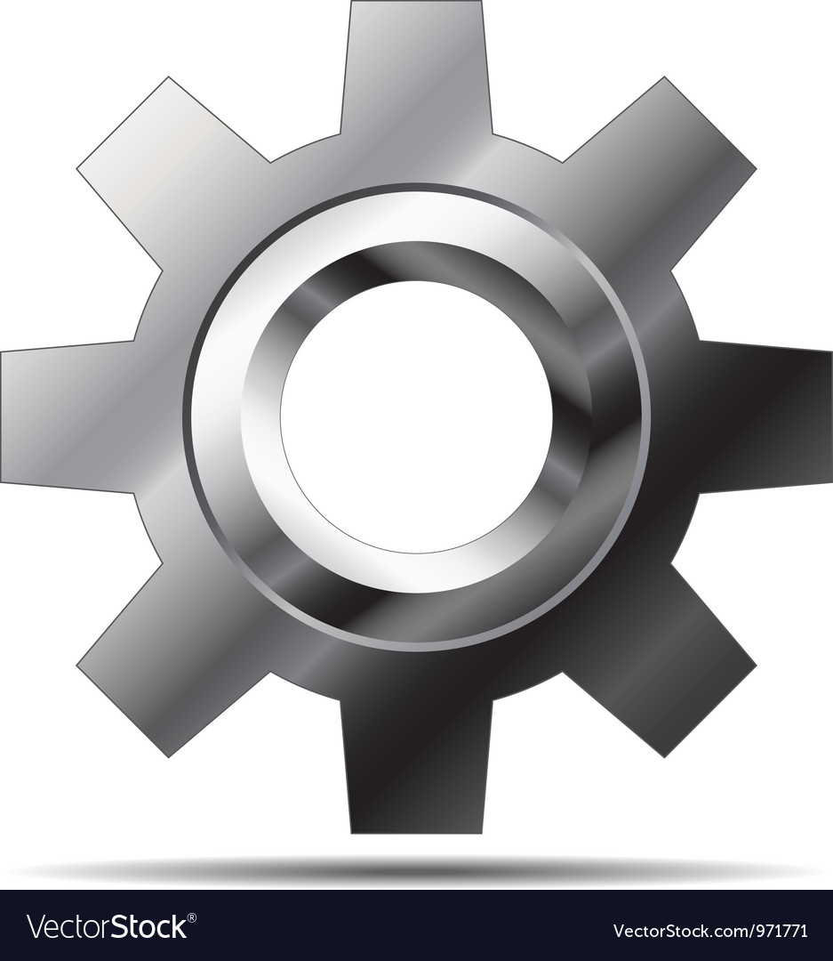 Gear icon vector | Price: 3 Credit (USD $3)
