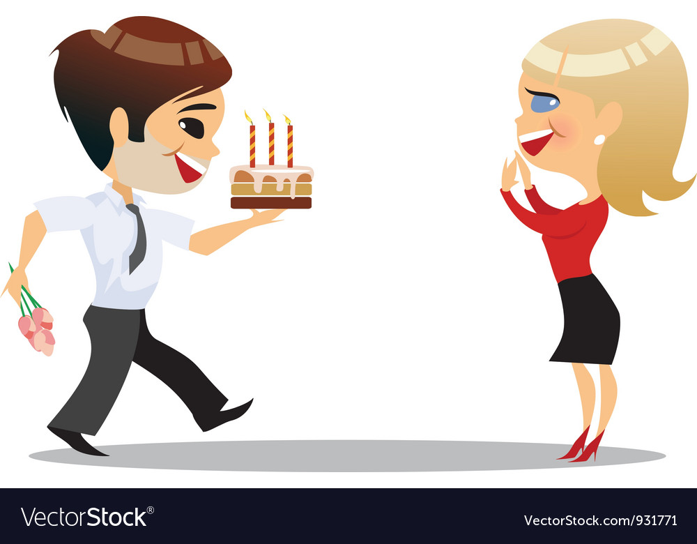 Office party vector | Price: 1 Credit (USD $1)