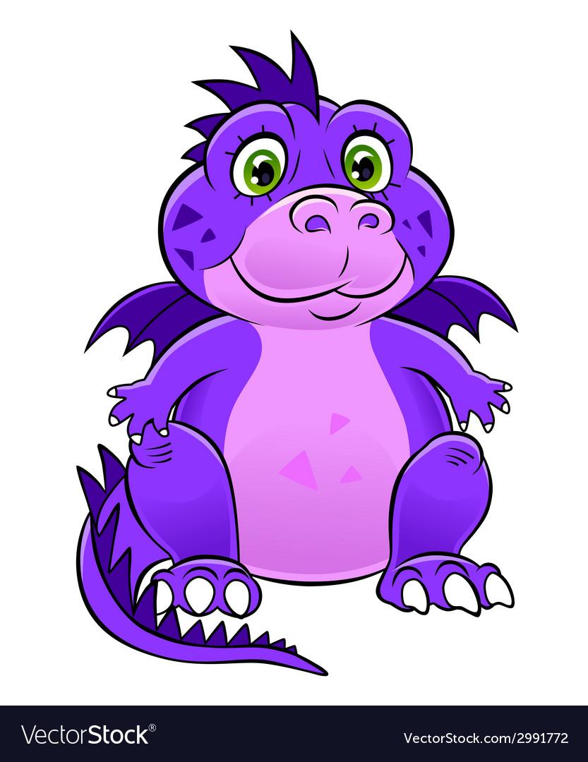Dragon child vector | Price: 1 Credit (USD $1)