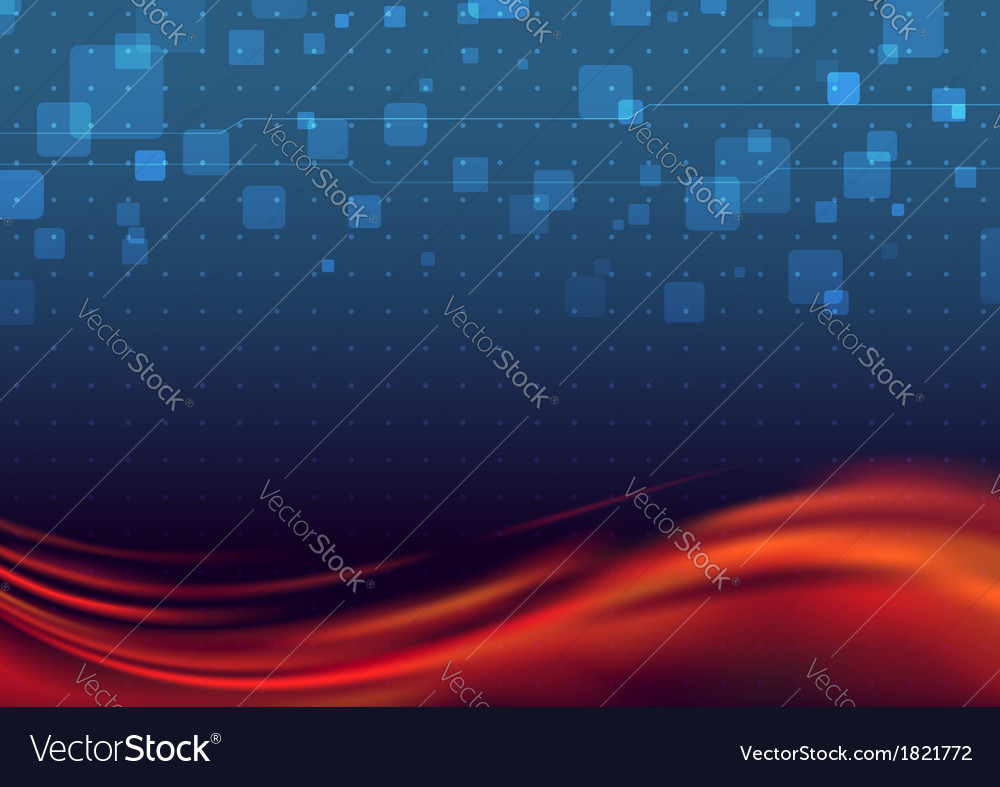 Liquid flare - abstract background vector | Price: 1 Credit (USD $1)