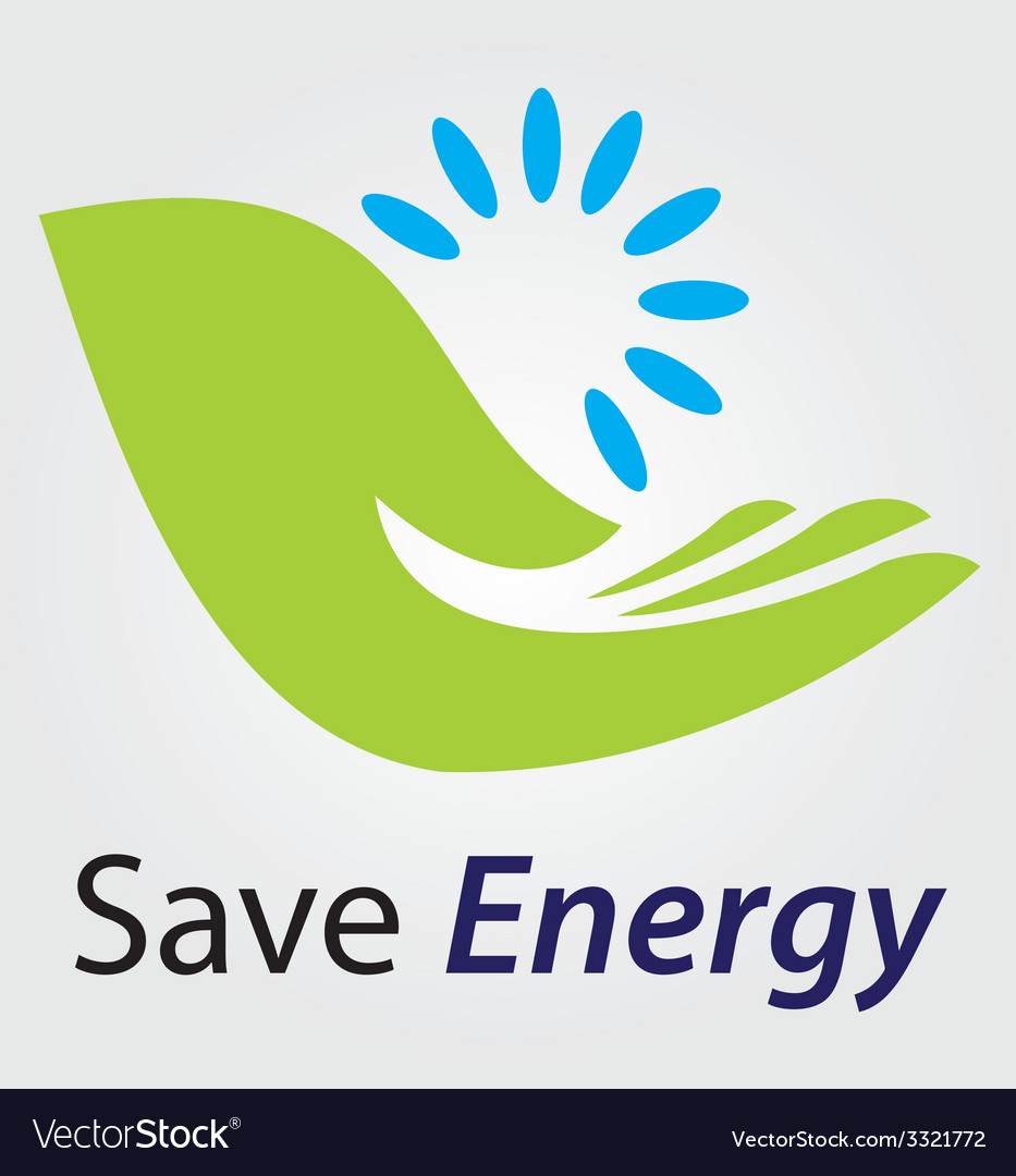 Save energy concept vector | Price: 1 Credit (USD $1)