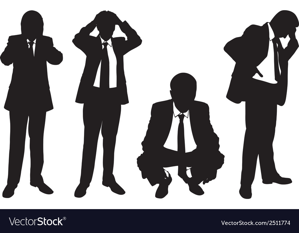 Business men vector | Price: 1 Credit (USD $1)