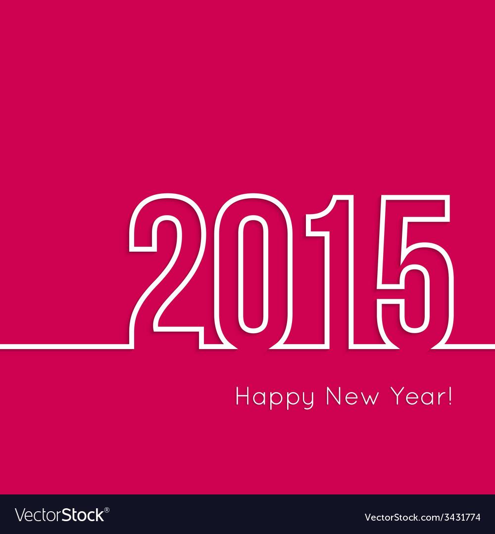 Creative happy new year vector   Price: 1 Credit (USD $1)