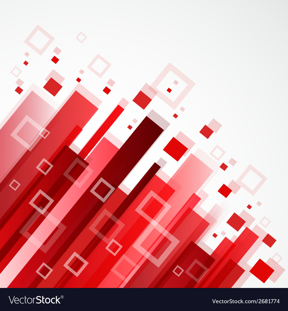 Digital red background vector | Price: 1 Credit (USD $1)