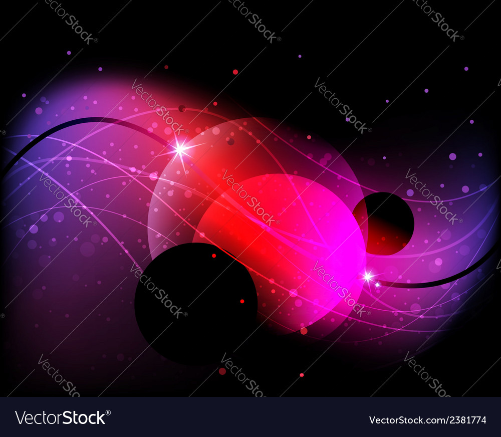 Mysterious cosmic background vector | Price: 1 Credit (USD $1)