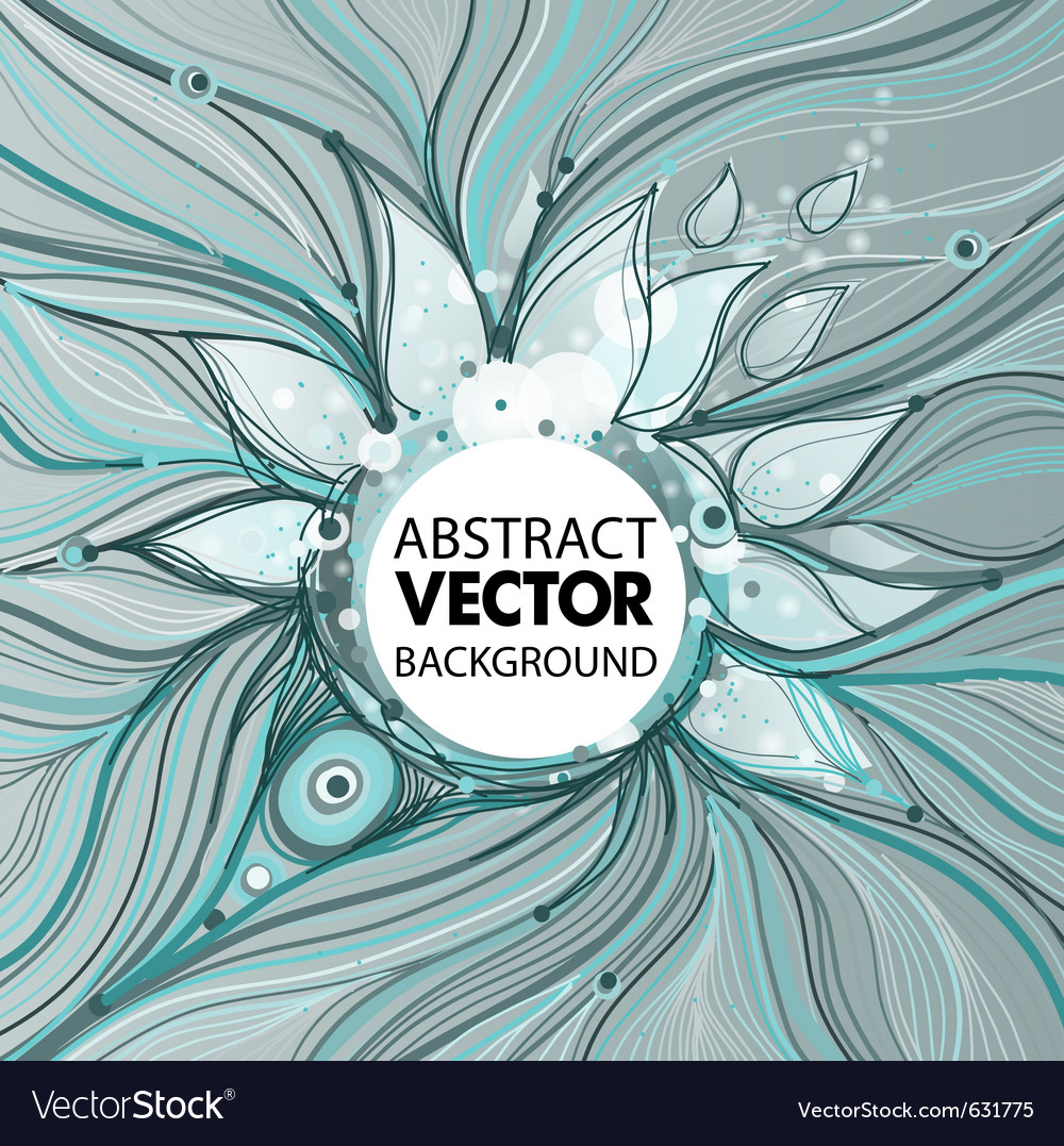 Abstract trendy background vector | Price: 1 Credit (USD $1)