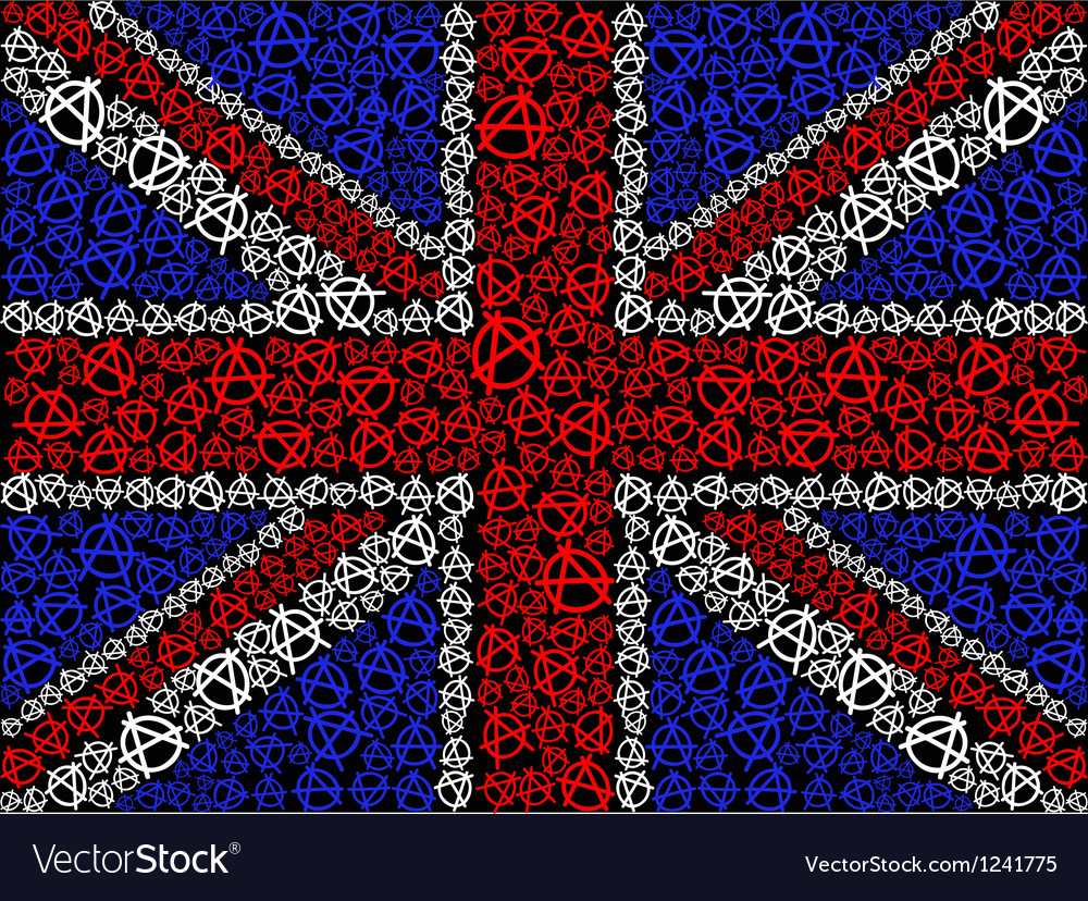 British flag symbol of anarchy vector | Price: 1 Credit (USD $1)