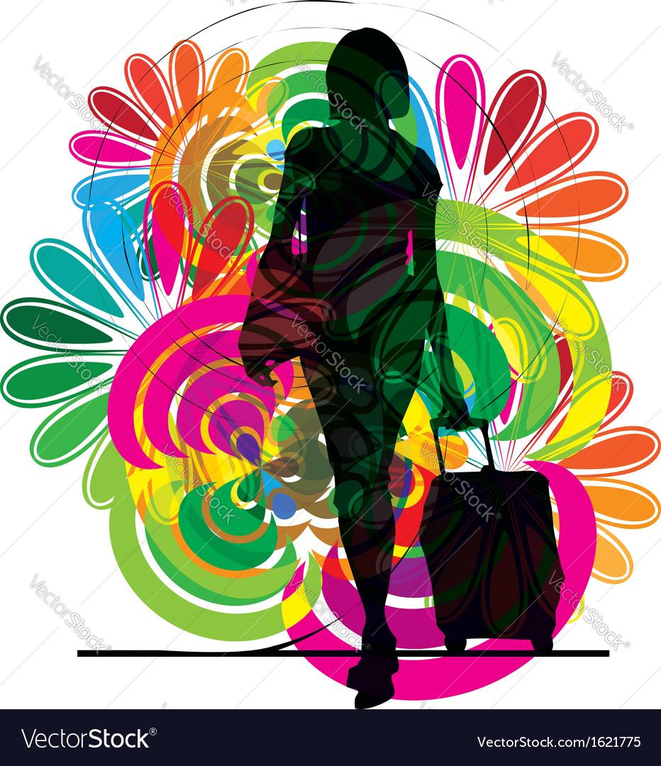 Businesswoman vector | Price: 1 Credit (USD $1)
