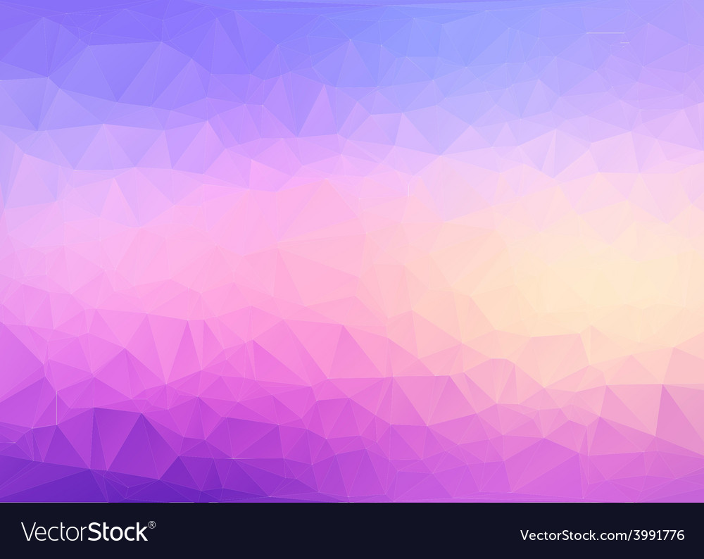 Polygon background vector | Price: 1 Credit (USD $1)
