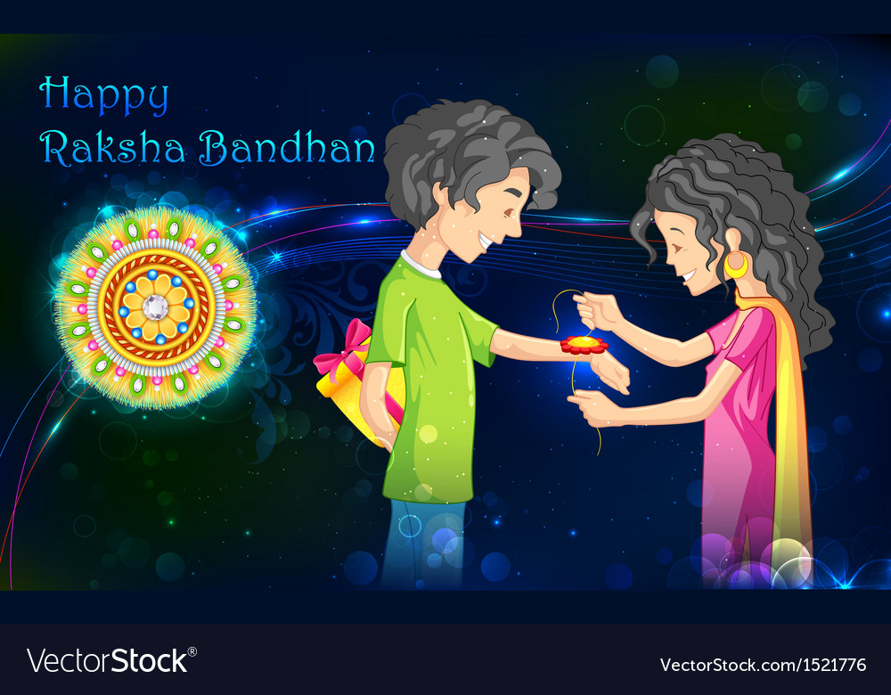 Raksha bandhan vector | Price: 3 Credit (USD $3)