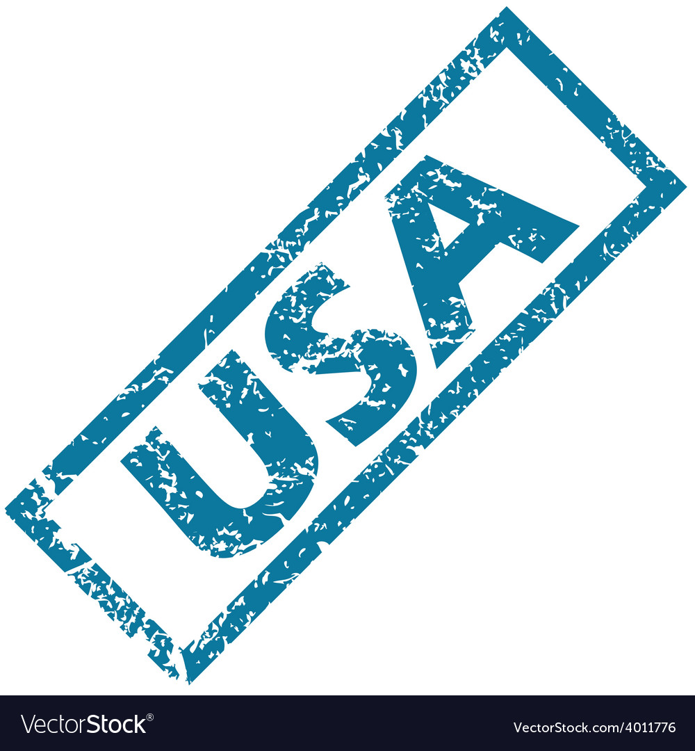 Usa rubber stamp vector | Price: 1 Credit (USD $1)