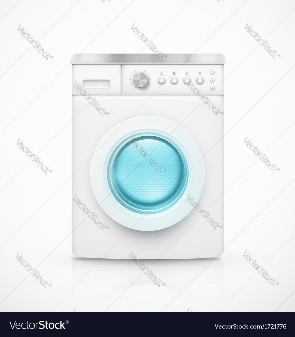 Washing machine vector | Price: 1 Credit (USD $1)