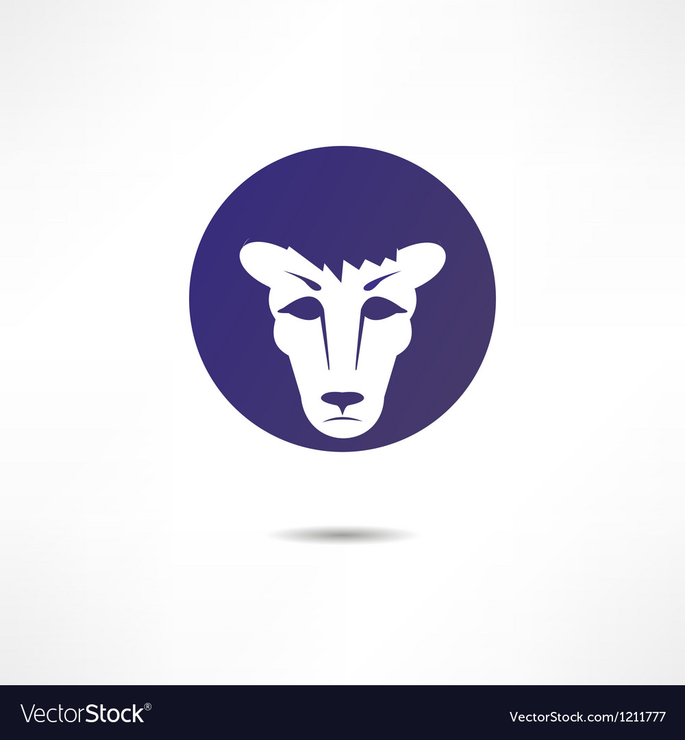 Frustrated by a lion vector | Price: 1 Credit (USD $1)