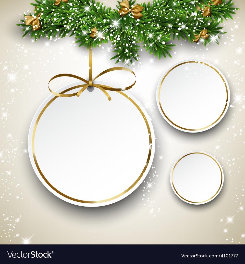 Paper christmas balls vector | Price: 1 Credit (USD $1)