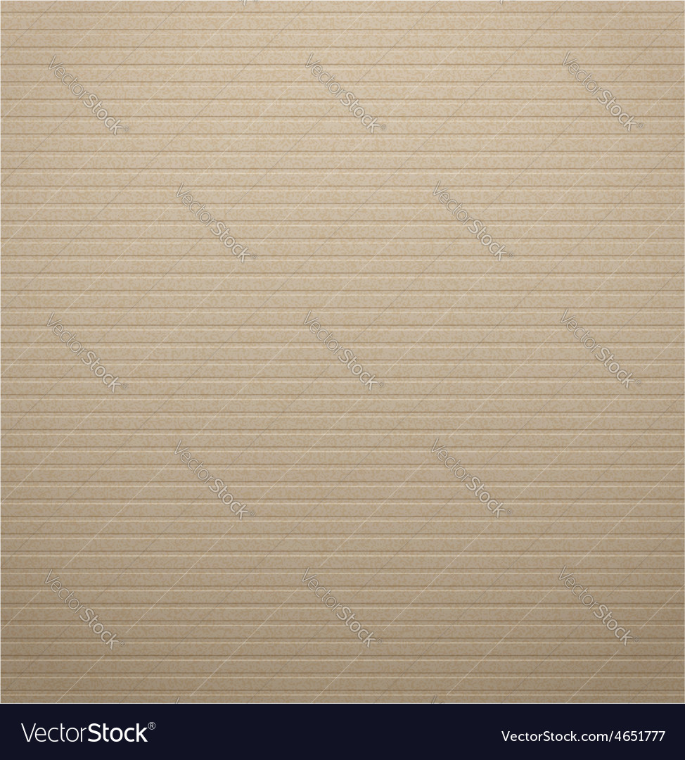 Texture of cardboard with the striped pattern vector | Price: 1 Credit (USD $1)