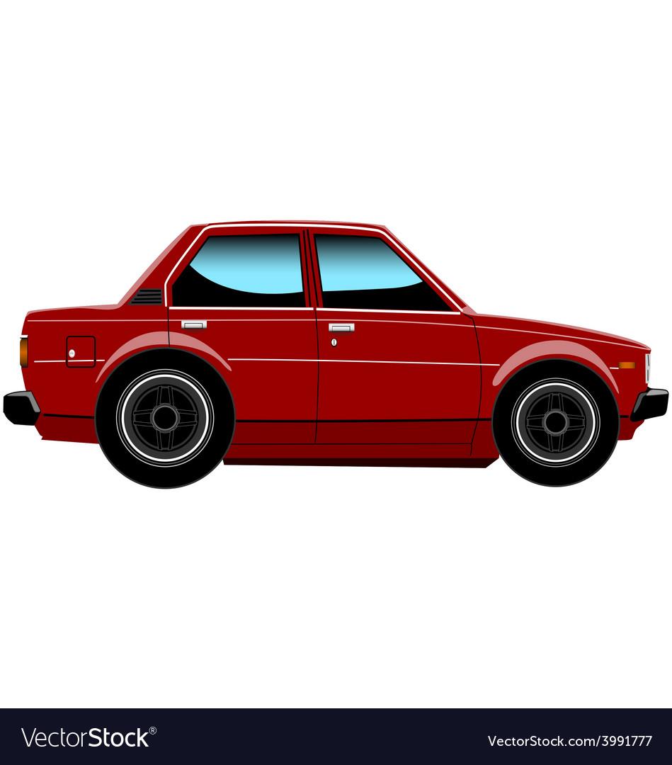 Toyota corolla ke70 side 01b vector   Price: 1 Credit (USD $1)