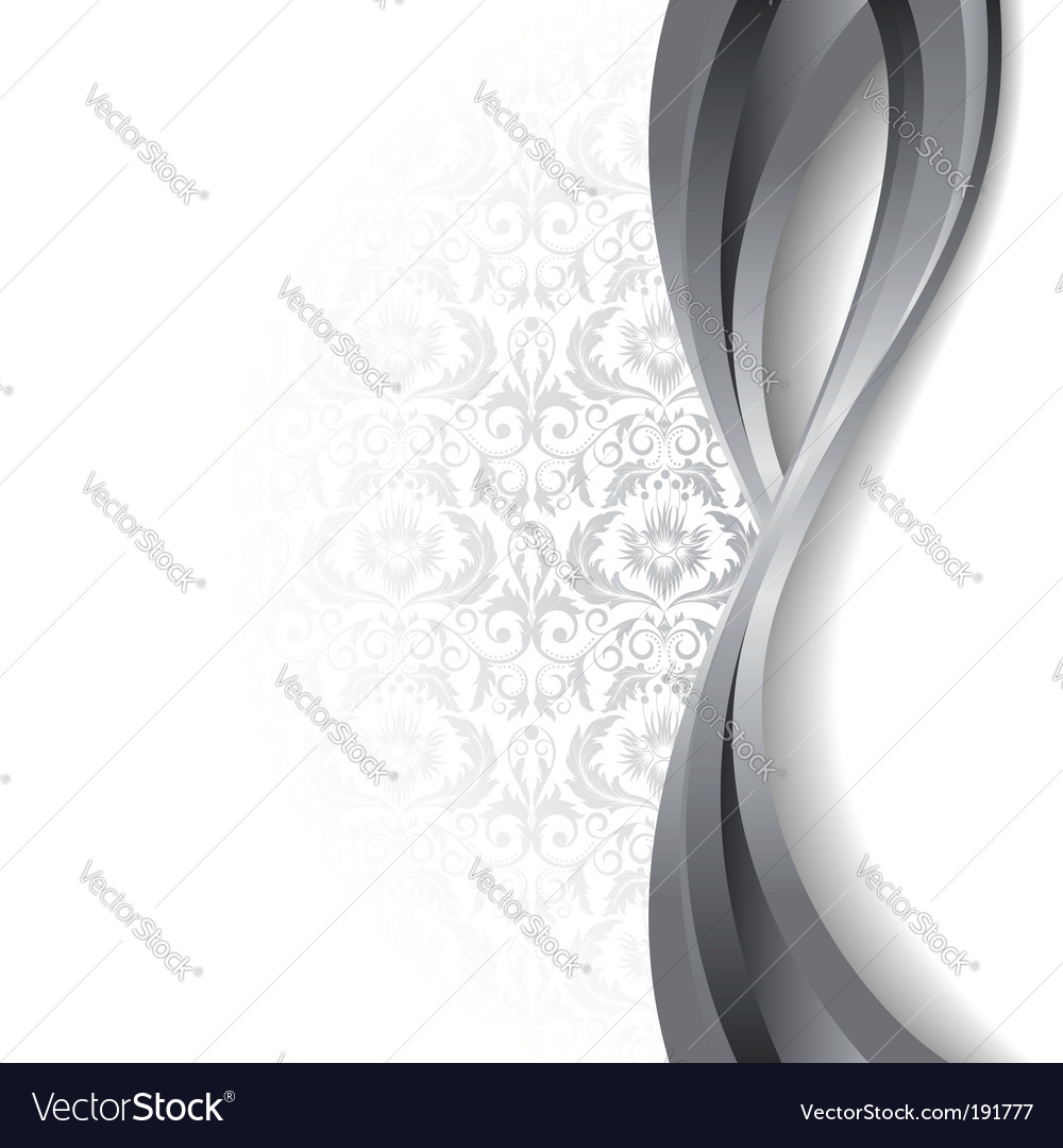 White and silver background vector | Price: 1 Credit (USD $1)