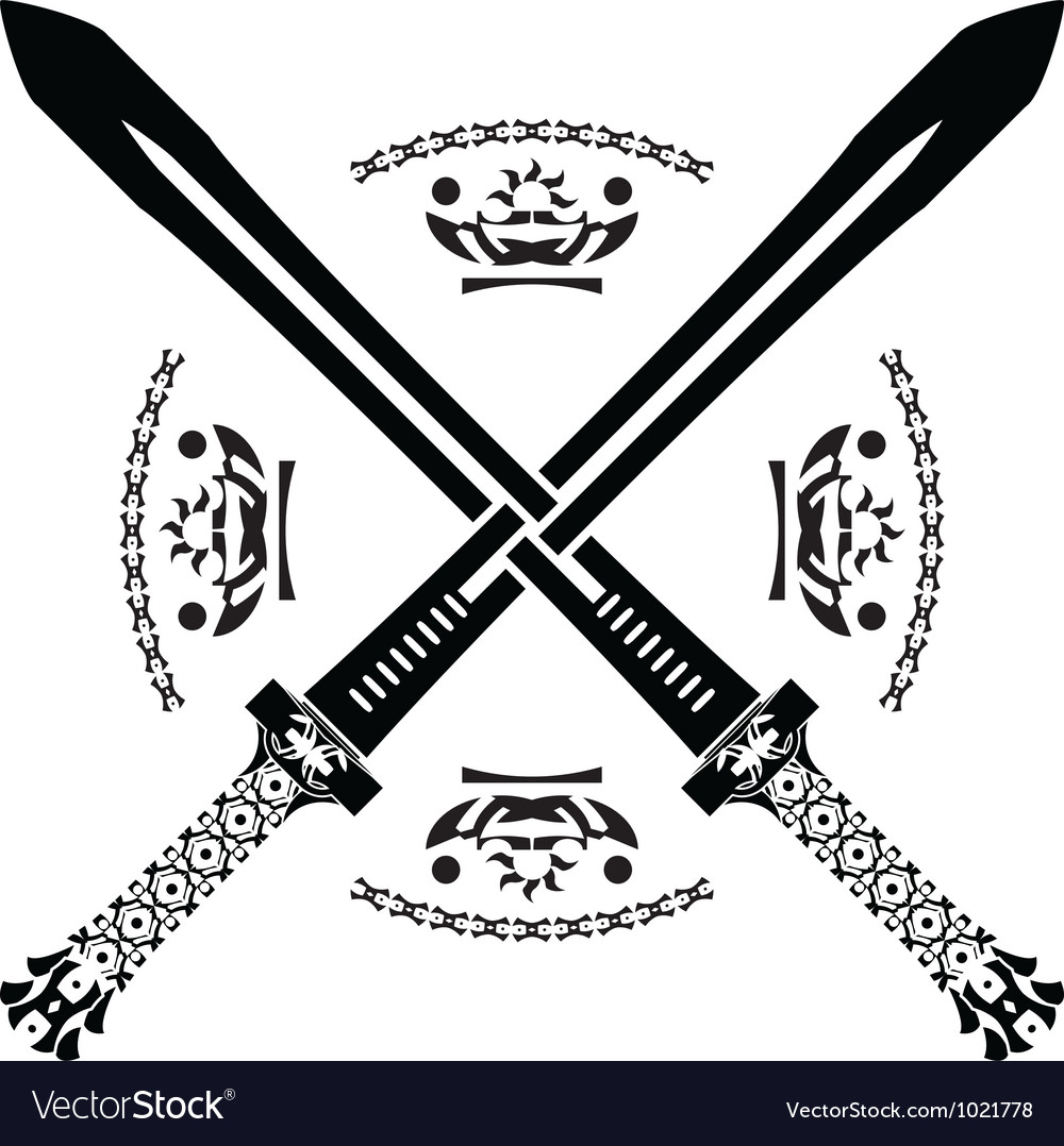 Fantasy swords first variant vector | Price: 1 Credit (USD $1)