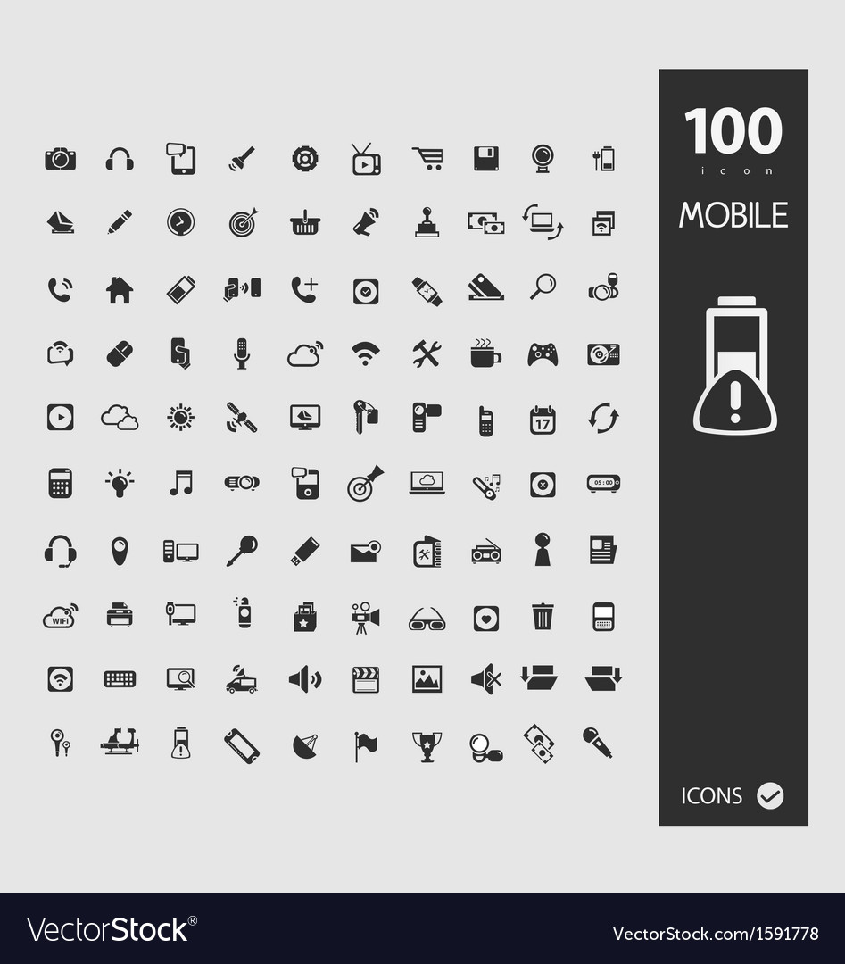 Minimal styled icons for autumn vector | Price: 1 Credit (USD $1)