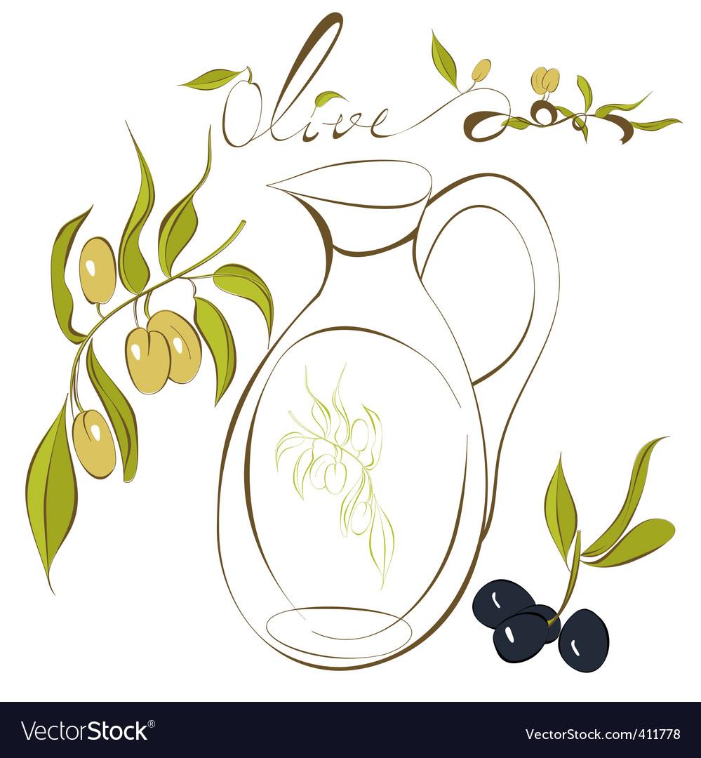 Olive vector | Price: 1 Credit (USD $1)
