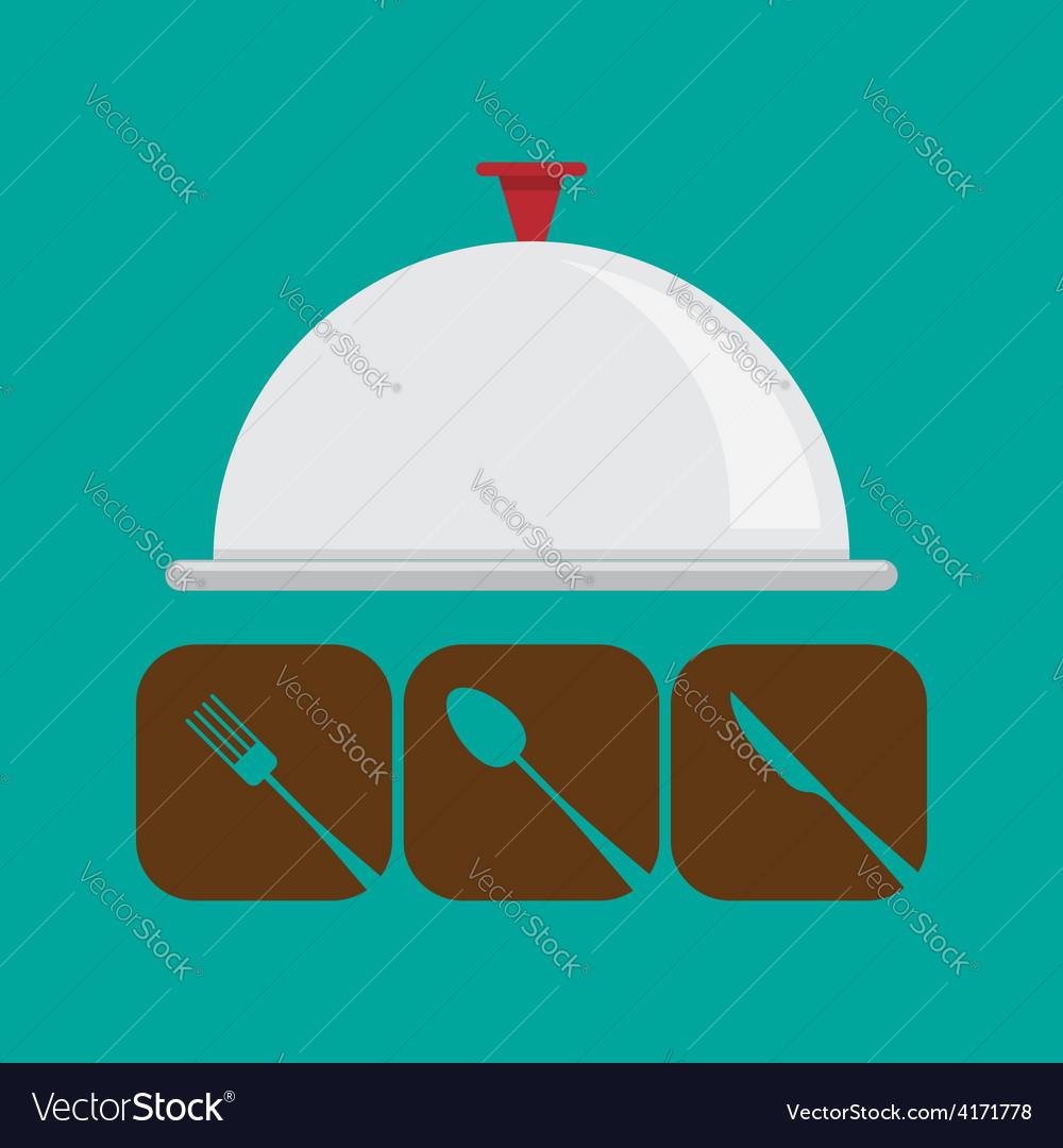 Restaurant menu icon vector | Price: 1 Credit (USD $1)