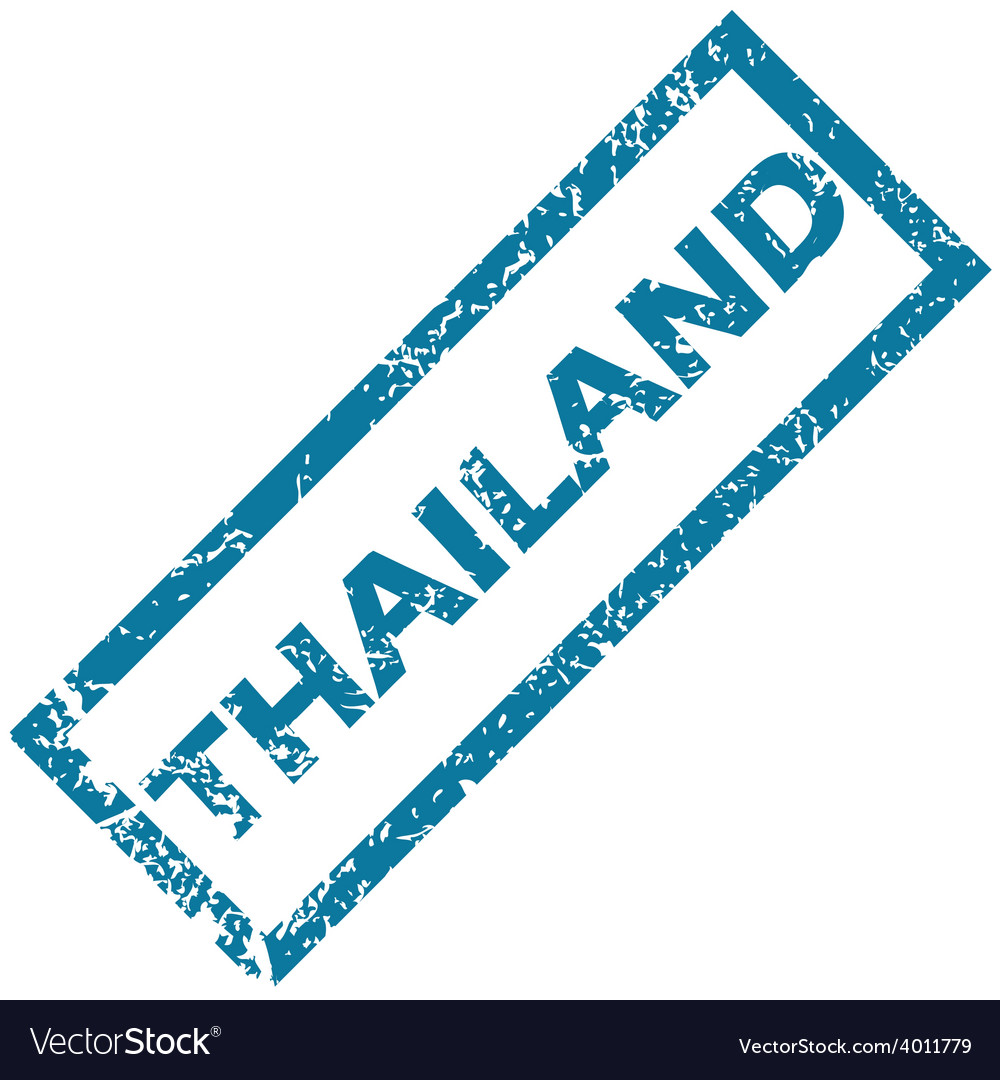 Thailand rubber stamp vector | Price: 1 Credit (USD $1)