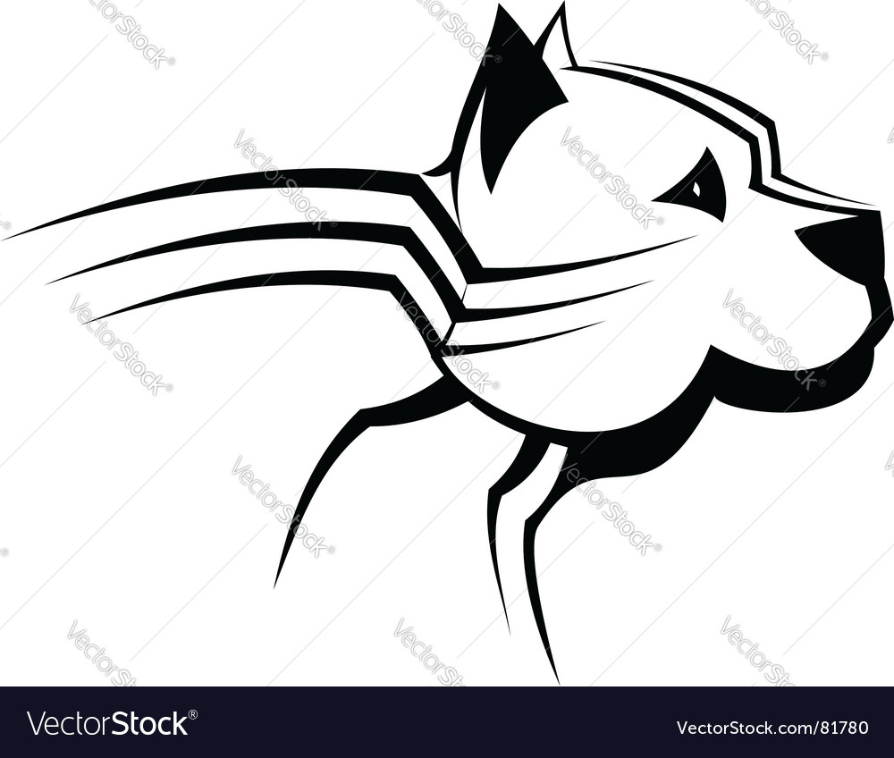 Guard dog vector | Price: 1 Credit (USD $1)